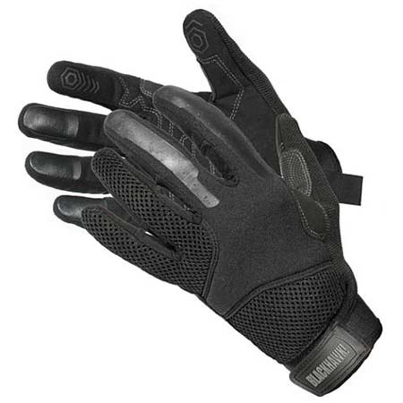 Hot Ops Vent Hot Weather Glove Black Large