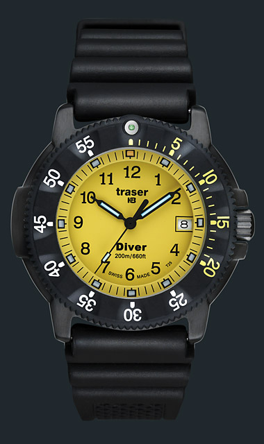 Diver Yellow Yellow One Size