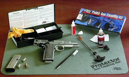 Police Handgun Cleaning Kit .44-.45