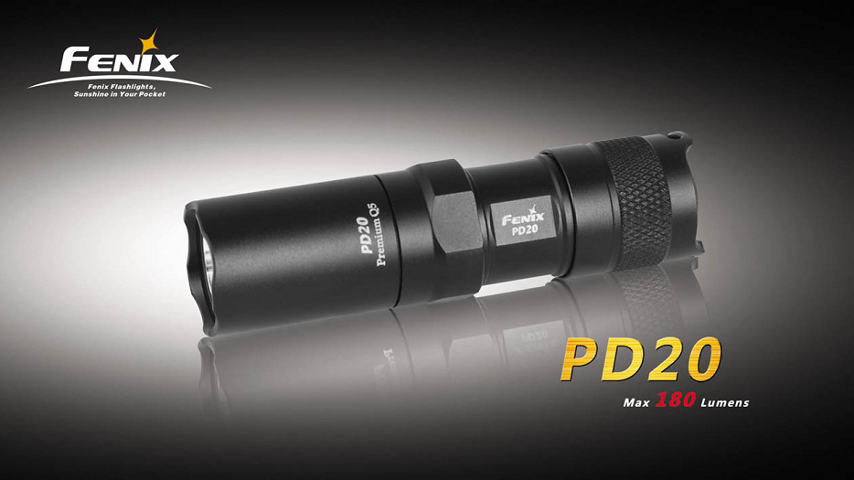 PD20 CREE 7090 Black