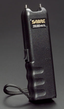Stun Gun w/200,000 volts Narrow Model