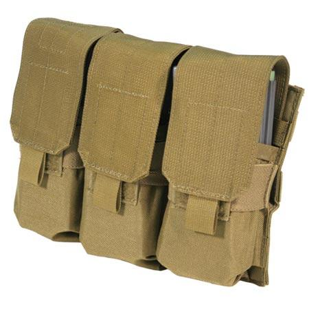 M4 Triple Mag Pouch Holds 6 OD Green
