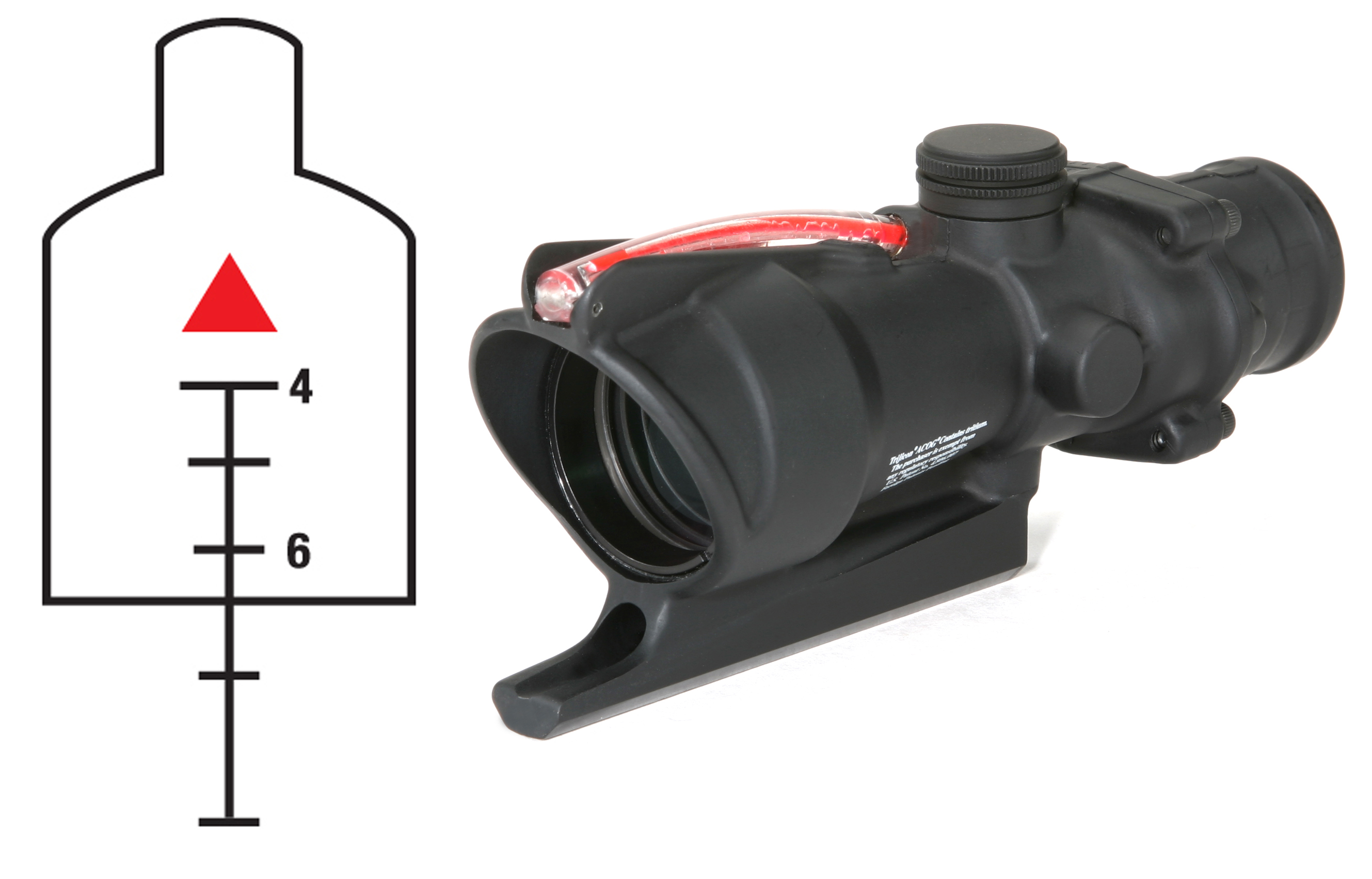 ACOG 4X32 SCOPE Red Triangle