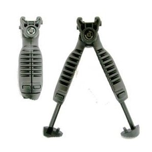 Vertical Grip with Bipod Black