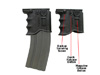 MG20 Universal Cordura Mag Cou Black One Size