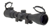 Rubber Armored 3-9x40 Scope Black One Size