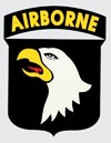 101st Airborne Shield Decal