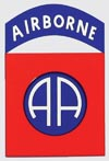 82 Airborne AA Decal