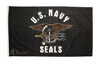 Navy Seal Flag Polyester 3' x 5'