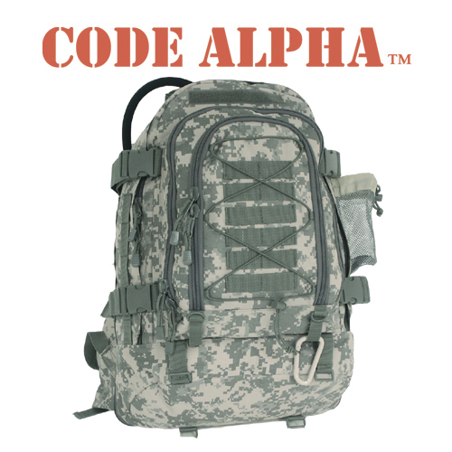 Backpack Digital Camo Woodland One Size