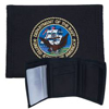 Tri Fold Embroid Marine Corps Black One Size